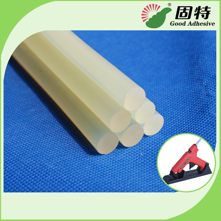 EVA General Purpose White Semi-Transparent Hot Melt Glue Stick For Sealing , Hard Crafts
