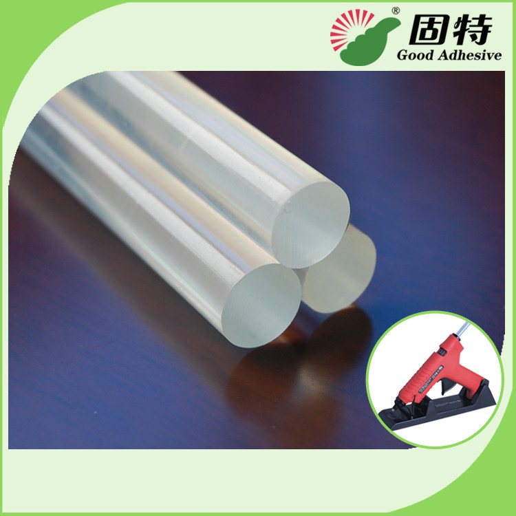 EVA Transparent Hot Melt Gun Stick For Sealing , Packing , Woodworking