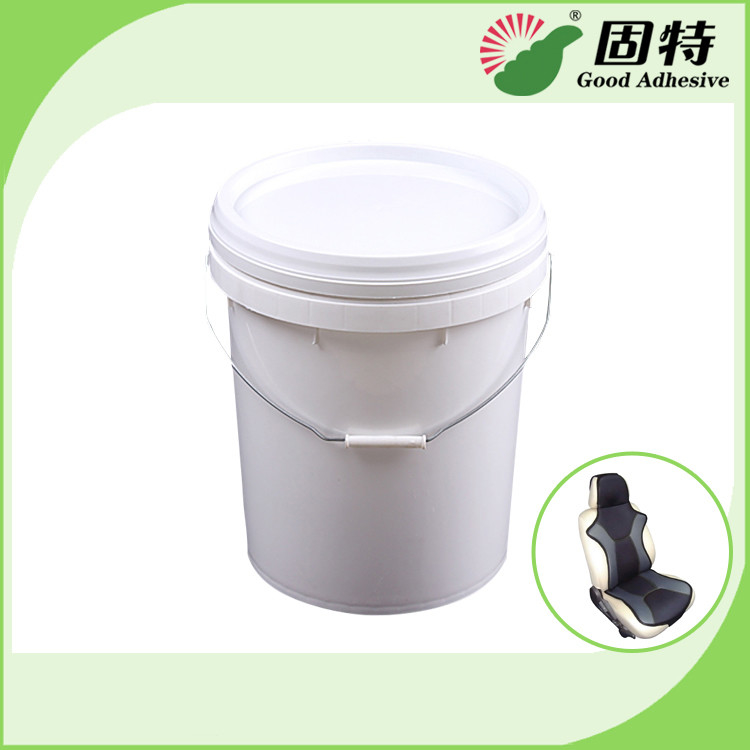 White Liquid Synthetic Rubber Dispersion Hot Melt Glue Adhesive Forar Seat Interior Materials , Door Plank Covering