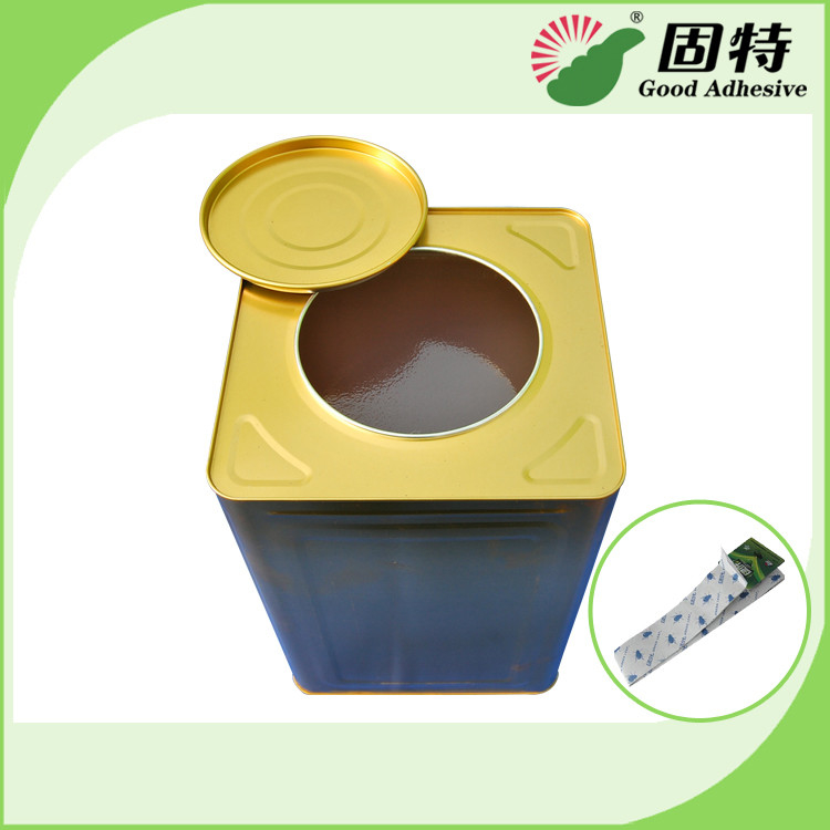 Styrene Elastomer Yellowish And Semi-Transt High Viscosity Amber Animal Jelly Glue For Insect-Atch Glue Board