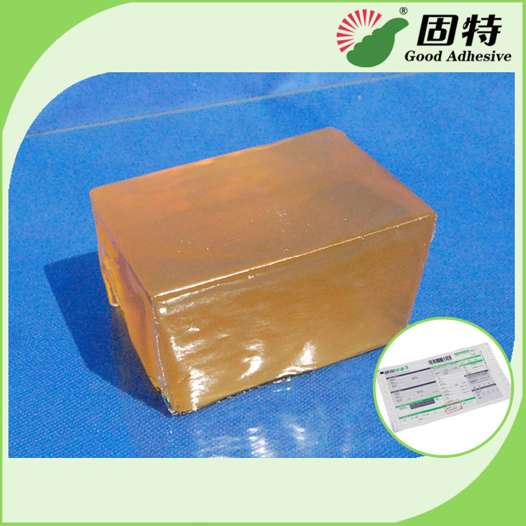 Hot Sell Block Hot Melt Pressure Sensitive Adhesive For Packaging Express Bill Sealing