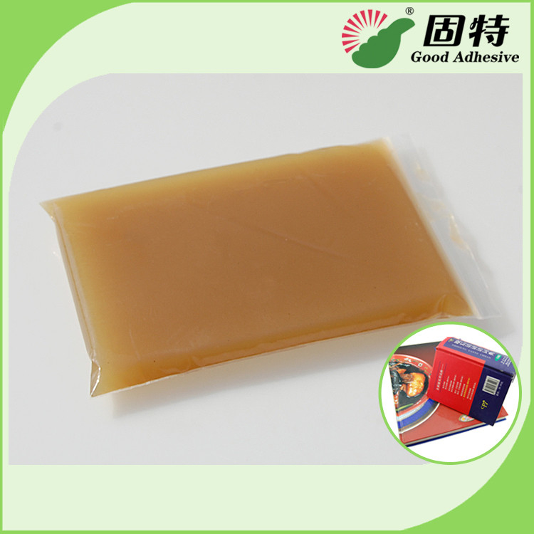 High Viscosity Amber Animal Hot Melt Adhesive Glue For Automatic Case Maker