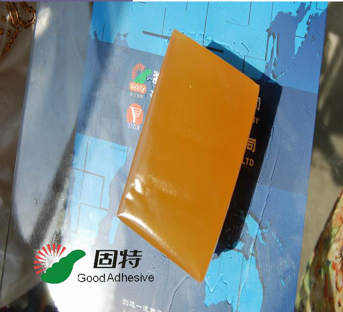 Yellow Hot Melt Glue Packaging , Synthetic Polymer Resin Mail Envelope Pur Hot Melt