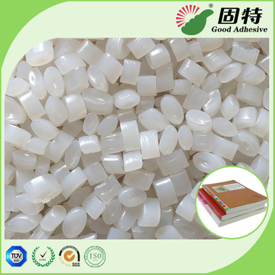China Spine paper Hot Melt Binding Glue Pellets With Paper Bag Package for bookbinding factory