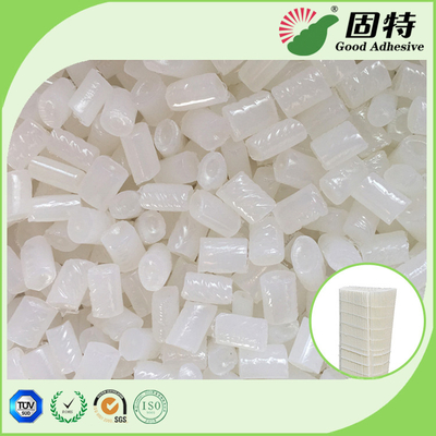 China White  Granule Semi Transparent Hot Melt Adhesive Glue Pellets Good Temperature Resistance for filter elements bonding factory
