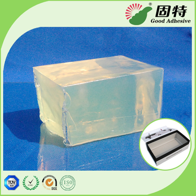 China Outer Packing Bonding Hot Melt Glue , Hot Melt Pressure Sensitive Adhesive for Box Positioning factory