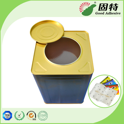 China Solid Pressure Sensitive Hot Melt Glue Yellowish Color For Fly Paper Trap factory