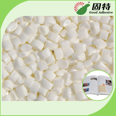 China Top grade Low Grams Milk White Hot Melt Coated Paper Spine Bookbinding  EVA Based Hot Glue Adhesive With High Quality factory