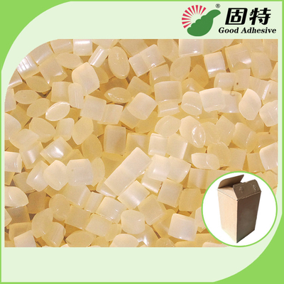China Hot Melt Adhesive for Corrugated Carton Fixing Such as Drink Box Food Box Packaging Box factory