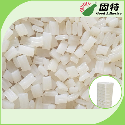 China Colorless Granule EVA And Viscosity Resin Hot Melt Glue Adhesive YD-5K Is An APAO Based factory