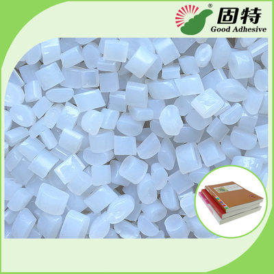 China Environmental Book Binding Adhesive Glue , Hot Melt Glue Pellets In White factory