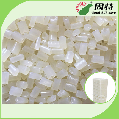 China Granule Semi White Transparent  EVA Resin For Air Filter , Especially For Forming And Bonding Of Filter Elements factory