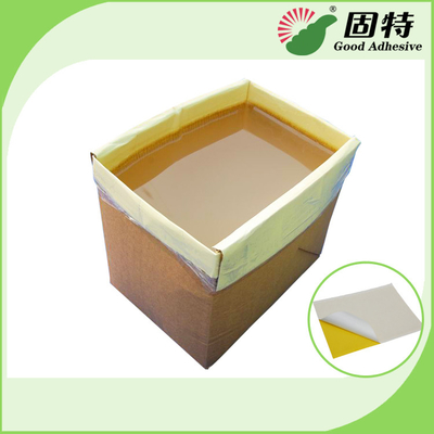 China Solid Industrial Hot Melt Adhesive For Insect Trap Such As Yellow Blue Board Usboard factory