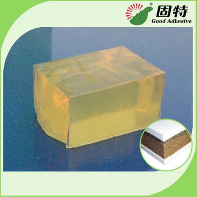 China Yellow Hot Melt Adhesive Pellets For Sticking Nylon Wire With Wood Veneer In Timber Splicing factory