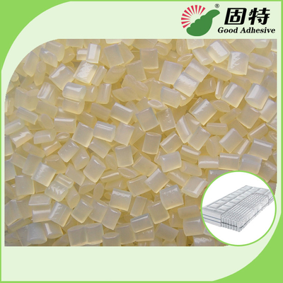 China SBS Hot Melt Adhesive Pellets for Layers Coating of Fabric Sponge Non-woven Foam EVA Materials in Mattress factory