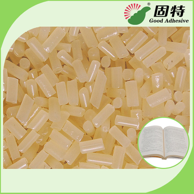 China Eva Siding Hot Melt Adhesive / Vinyl Siding Industrial Hot Melt Glue In Yellow factory