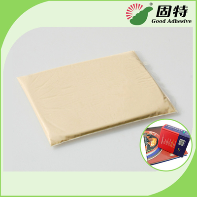 China PH 6.5 Industrial Strength Hot Glue Packaging For Notebook Backlining factory